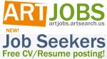 Art Jobs USA: Job-seekers: free resume and job posting