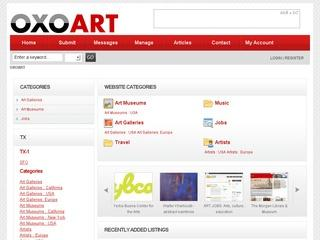 OXO Artists - free art directory listing - add url